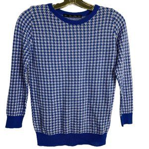 Zara Houndstooth Sweater